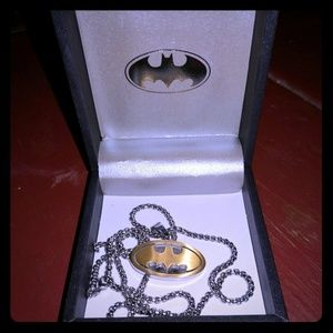 Other - Steel Batman Necklace
